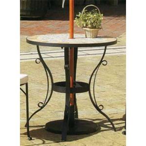 ガーデンテーブル モザイクビストロテーブル|web-takigawa