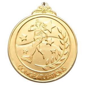 【法人様のみの販売】アーテック メダル 「陸上」 金 001839|weball