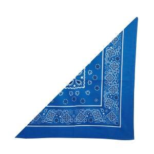 【法人様のみの販売】アーテック 三角 バンダナ 青 002716|weball