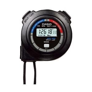 【送料無料】カシオ計算機 ストップウォッチ 1/100秒計測 10時間計 ブラック  HS-3C-8AJH