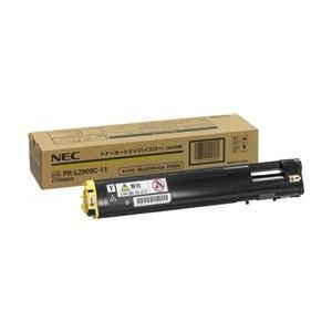 【送料無料】NEC  トナーカートリッジ3K(イエロー)  PR-L2900C-11|weball