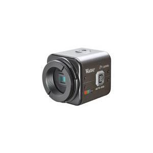 ワテック カラーカメラ(電源重畳) WAT-600CX(PAL)|weball