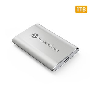 HP ポータブルSSD P500シリーズ シルバー 1TB USB3.1 Gen2 Type-C 1F5P7AA#UUF