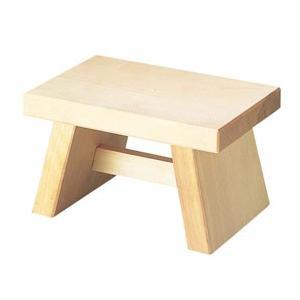 白木 風呂椅子 6-481-1 260×170×H155 3480800|webby