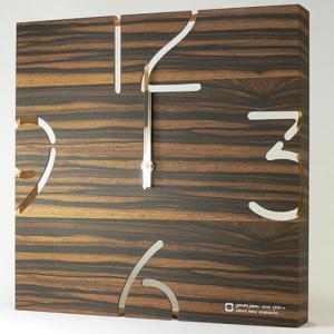 ヤマト工芸 掛時計 PAZZLE-電波時計- YK10-102 黒檀|webby