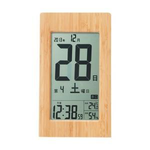 アデッソ ADESSO 竹の日めくり電波時計 T-8656|webby