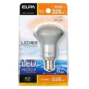 ELPA LED電球ミニレフ形(325lm) LDR4L-H-E17-G611|webby