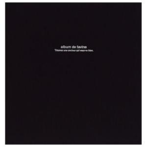 ナカバヤシ ドゥファビネ フエルアルバム L アH-LD-191-Dブラック|webby