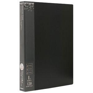 ナカバヤシ バインダー式ポケットアルバム フォトファイル ブラック アS-MY-141-D|webby