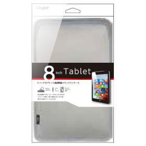 ナカバヤシ 8inchタブレット用 スリップインケース シルバー TBC-FC81403SL