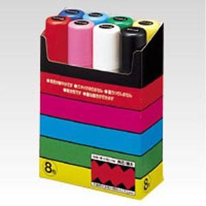 三菱鉛筆 ポスカ 極太 8色 PC17K8Cの商品画像