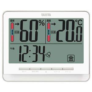 TANITA タニタ デジタル温湿度計 ホワイト TT-538-WH|webby