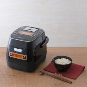 アイリスオーヤマ 銘柄量り炊きIHジャー炊飯器3合 リニューアル ブラック RC-IA31-B