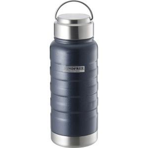 カクセー MINDFREE マインドフリー ステンレスボトル 水筒 550ml ネイビー MF-05N|webby