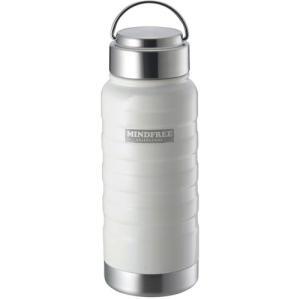 カクセー MINDFREE マインドフリー ステンレスボトル 水筒 550ml ホワイト MF-05W|webby