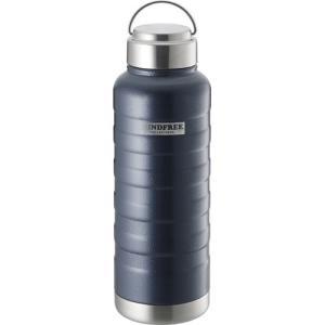 カクセー MINDFREE マインドフリー ステンレスボトル 水筒 1000ml ネイビー MF-10N|webby