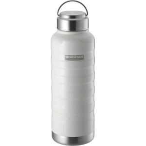 カクセー MINDFREE マインドフリー ステンレスボトル 水筒 1000ml ホワイト MF-10W|webby