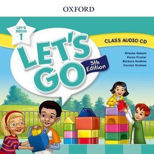 Oxford University Press Let's Go 5th Edition Let's Begin 1 Class Audio CDs (1) webby