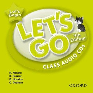 Oxford University Press Let's Go 4th Edition Let's Begin Class Audio CDs|webby