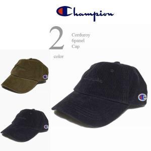 Champion(チャンピオン)から コットンコーデュロイキャップのリリース。  筆記体でチャンピオ...