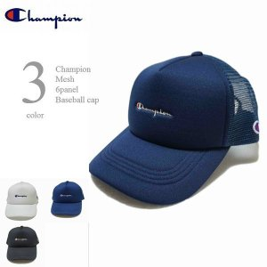 Champion(チャンピオン)から 定番メッシュキャップのリリース。  こちらはポリエステル系素材...