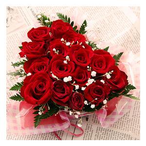 誕生日の花 レッドハート|webflora