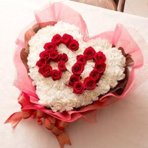 誕生日 還暦 記念日 フラワーケーキ 周年 プレゼント ギフト誕生日|webflora
