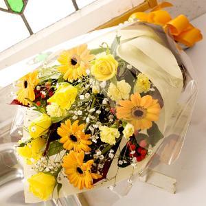 バラ ばら 薔薇 ビタミンカラー花束|webflora