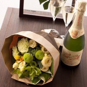 ワインと花 結婚祝い 天使のアスティ ギフト プレゼント 贈り物|webflora