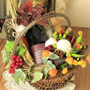 ワインと花 誕生日プレゼント ラフェスタ|webflora