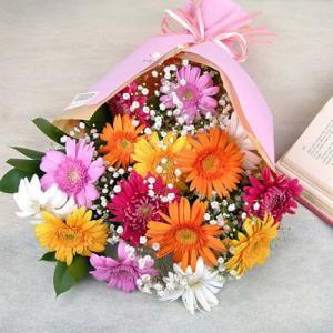 ガーベラ 花束 サニーブーケ|webflora