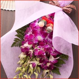 敬老の日 デンファレ花束