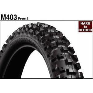 BRIDGESTONE MOTOCROSS M403 70/100-17 40M Wモトクロス タイヤ webike02
