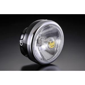 MARCHAL マーシャル 819ドライビングランプフルキット クリアーレンズ ブラックケース ヘッドライト一覧 HONDA APE50 エイプ HONDA APE50 エイプ|webike02