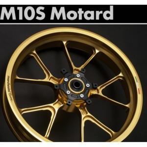 MARCHESINI マルケジーニ アルミニウム鍛造ホイール M10S Motard-STREET モタードストリート YAMAHA WR250X 07-|webike02