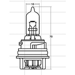 STANLEY スタンレー電気 ヘッドランプ用電球 ブリスターパック HONDA SPACY100 スペイシー