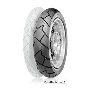 Continental コンチネンタル ContiTrailAttack2 150/70 ZR 18 M/C 70W TL コンチトレールアタック2 タイヤ KAWASAKI ZRX400 webike02