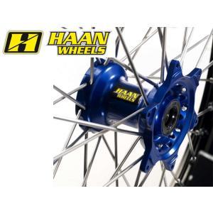 HAAN WHEELS ハーンホイール フロントモタードコンプリートホイール F3.50/16.5インチ YAMAHA WRF450|webike02|03