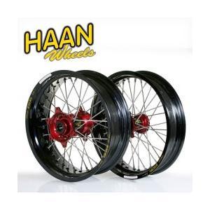 HAAN WHEELS ハーンホイール フロント?リアモタードコンプリートホイール F3.50-16.5インチ-R4.50/17インチ HUSQVARNA TC&FC (2014)|webike02|01