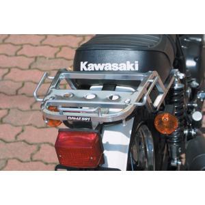 ROUGH&ROAD ラフ&ロード ラリー591 アルミキャリア KAWASAKI 250TR|webike