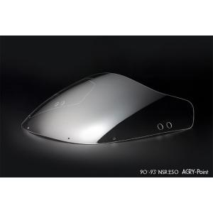 【在庫あり】ACRY-Point アクリポイント ストリートタイプスクリーン HONDA NSR250|webike
