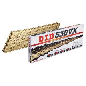 DID ダイドー VXシリーズチェーン 530VX ゴールド カシメ(ZJ)ジョイント付属 DUCATI 750 F1 85-86|webike