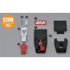 GIVI ジビ 補修部品プッシュボタン Z192 その他 E20N webike