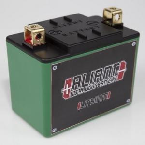 ALIANT アリアント リチウムスターターバッテリー YAMAHA メイト V80 ED 3E7 始動方式セル|キック|webike