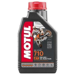 MOTUL モチュール 710 2T1L 2サイクルオイル|webike
