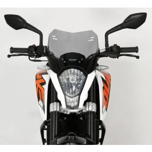 【在庫あり】MRA エムアールエー スクリーン スポイラー KTM DUKE390/200/125 11-16|webike