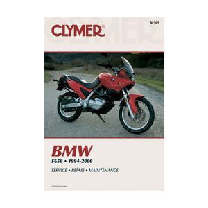 CLYMER クライマー サービスマニュアル英文加筆版 BMW F650|webike