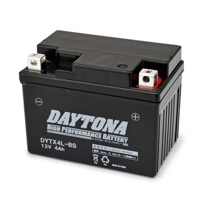 DAYTONA デイトナ ハイパフォーマンスバッテリー 液入り充電済 DYTX4L-BS HONDA C100 型式HA06 始動方式セル/キック webike