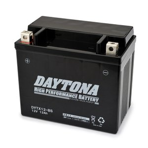 【在庫あり】DAYTONA デイトナ ハイパフォーマンスバッテリー 液入り充電済 DYTX12-BS HONDA CB1000SF 型式SC30 始動方式セル 適合年月92年11月- webike