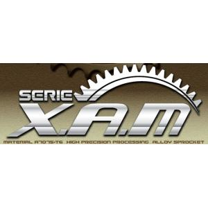 XAM ザム リアアルミスプロケット ポリッシュオーダー HONDA CB223S  08-|webike